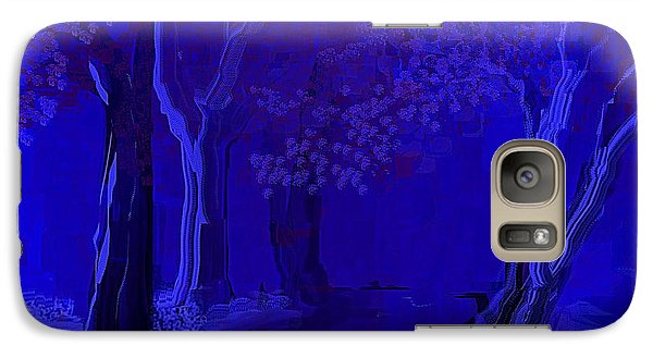 Galaxy Case featuring the painting The Walking Path by Jessica Wright