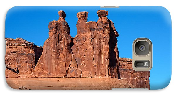 Galaxy Case featuring the photograph The Watchers by John M Bailey