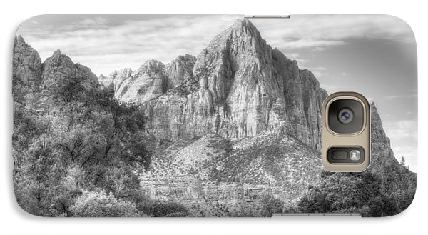 Galaxy Case featuring the photograph The Watchman by Jeff Cook