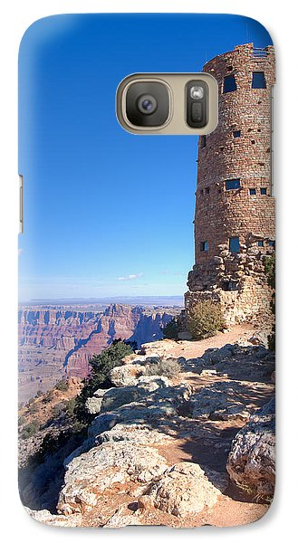 Galaxy Case featuring the photograph The Watchtower by John M Bailey