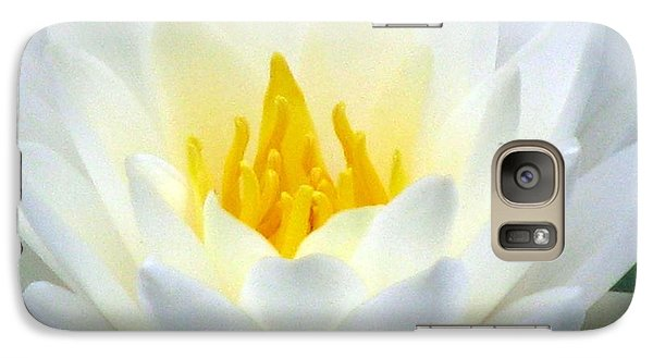 Galaxy Case featuring the photograph The Water Lilies Collection - 05 by Pamela Critchlow