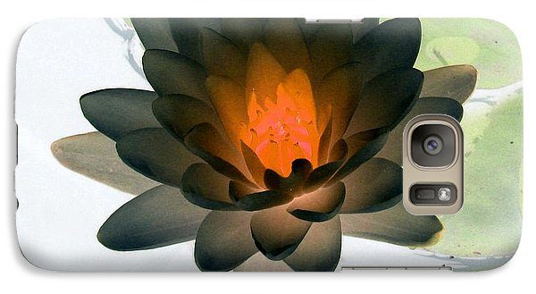 Galaxy Case featuring the photograph The Water Lilies Collection - Photopower 1035 by Pamela Critchlow
