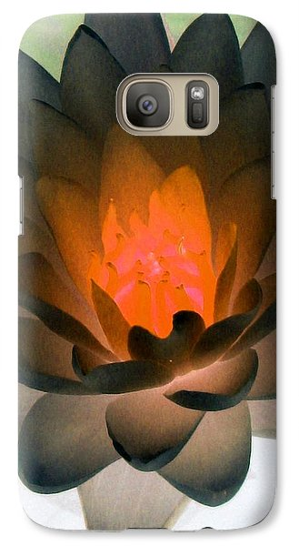 Galaxy Case featuring the photograph The Water Lilies Collection - Photopower 1036 by Pamela Critchlow