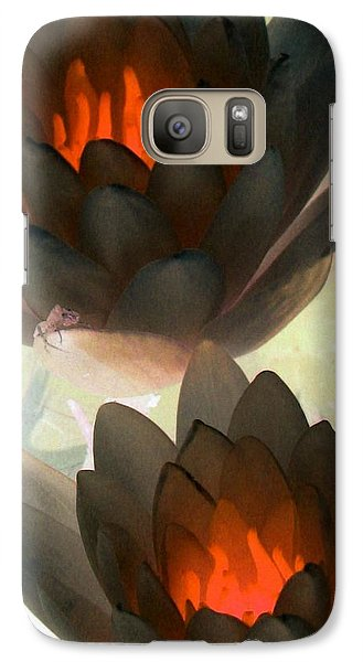 Galaxy Case featuring the photograph The Water Lilies Collection - Photopower 1042 by Pamela Critchlow