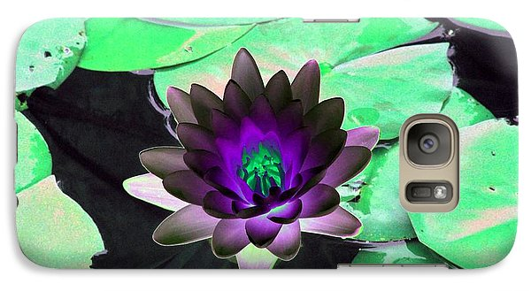 Galaxy Case featuring the photograph The Water Lilies Collection - Photopower 1113 by Pamela Critchlow