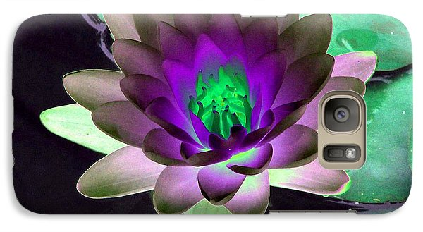 Galaxy Case featuring the photograph The Water Lilies Collection - Photopower 1114 by Pamela Critchlow