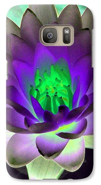 Galaxy Case featuring the photograph The Water Lilies Collection - Photopower 1115 by Pamela Critchlow