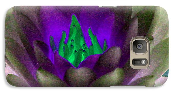 Galaxy Case featuring the photograph The Water Lilies Collection - Photopower 1117 by Pamela Critchlow