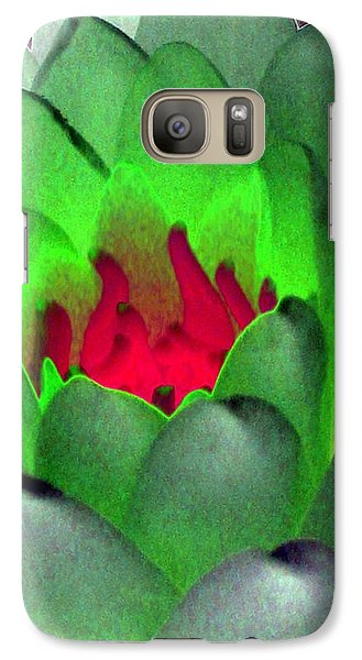 Galaxy Case featuring the photograph The Water Lilies Collection - Photopower 1122 by Pamela Critchlow