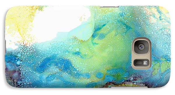 Galaxy Case featuring the painting The Wave by Karen Mattson