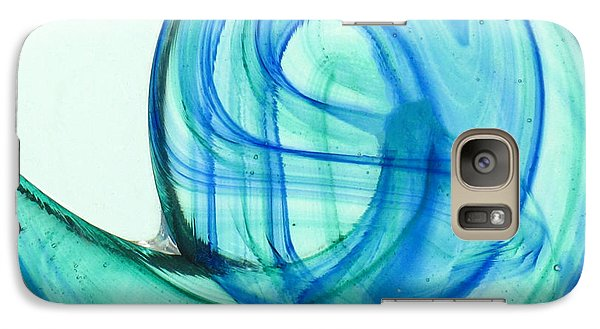 Galaxy Case featuring the photograph The Wave by Ranjini Kandasamy