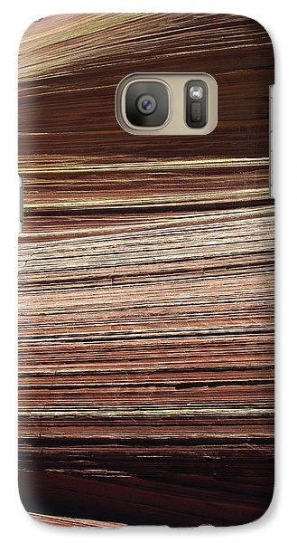 Galaxy Case featuring the photograph 'the Wave' North Coyote Buttes 06 by Jeff Brunton