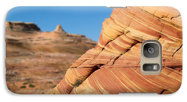Galaxy Case featuring the photograph 'the Wave' North Coyote Buttes 13 by Jeff Brunton