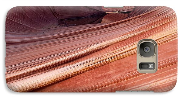 Galaxy Case featuring the photograph 'the Wave' North Coyote Buttes 62 by Jeff Brunton