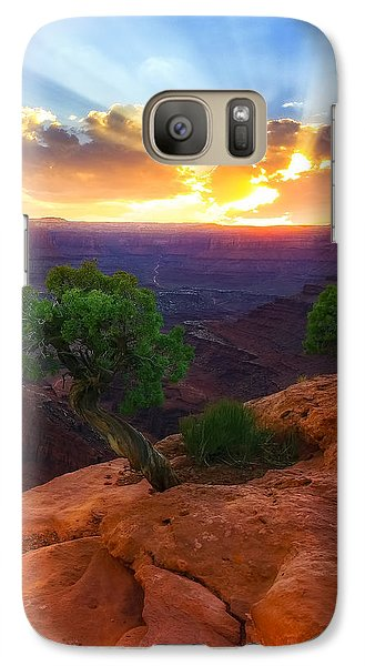 Galaxy Case featuring the photograph The Way Of Life by Kadek Susanto