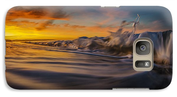 Galaxy Case featuring the photograph The Way Of The Wave by Sean Foster