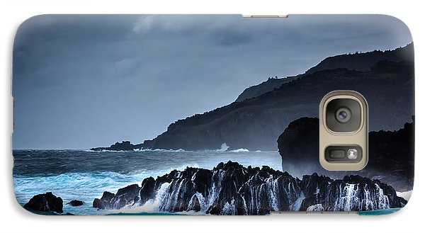 Galaxy Case featuring the photograph The Way To A New Wave by Edgar Laureano