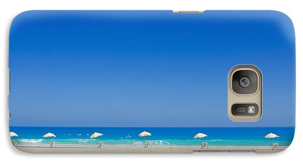 Galaxy Case featuring the photograph The Way To The Beach by Mohamed Elkhamisy
