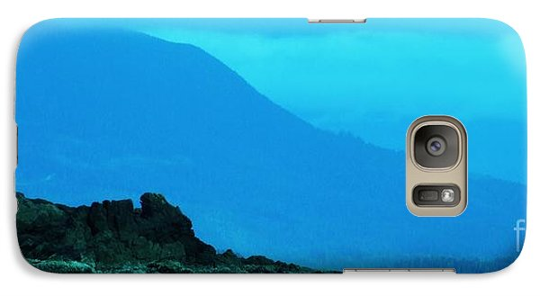 Galaxy Case featuring the photograph the West Coast by Marianne NANA Betts