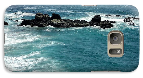 Galaxy Case featuring the photograph The Whale Rock by Carla Carson