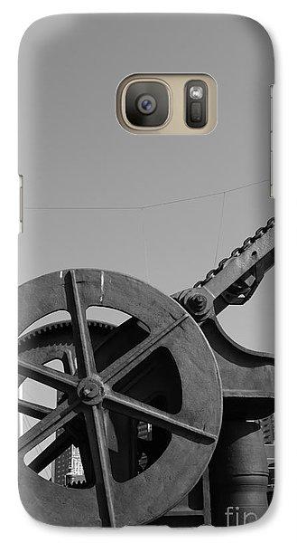 Galaxy Case featuring the photograph The Wheel by Maja Sokolowska