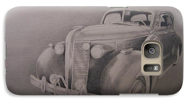 Galaxy Case featuring the drawing The Wheels Of Time by Mary Lynne Powers