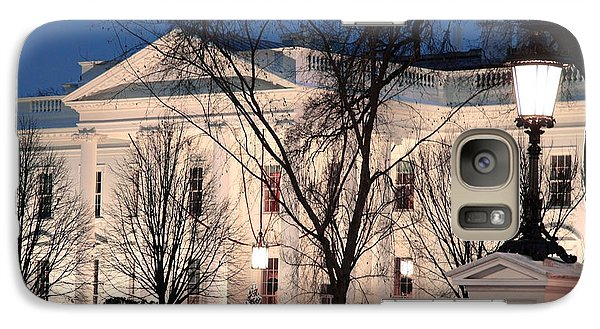 Galaxy Case featuring the photograph The White House At Dusk by Cora Wandel