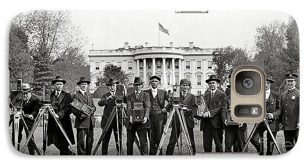 The White House Photographers Galaxy Case by Jon Neidert