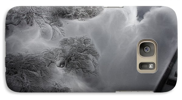 Galaxy Case featuring the digital art The White Tree by Bruce Rolff