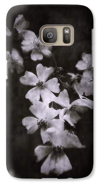 Galaxy Case featuring the photograph The Wild Roses by Louise Kumpf