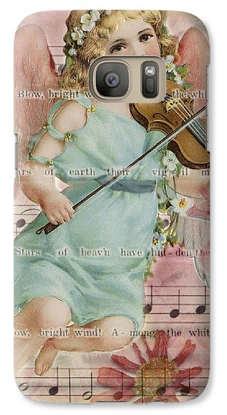 Galaxy Case featuring the photograph The Wind  by Sandra Foster