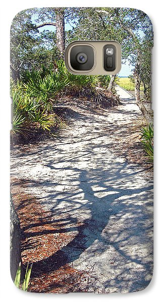 Galaxy Case featuring the photograph The Winding Path by Ellen Tully