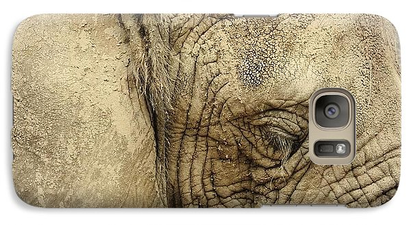 Galaxy Case featuring the photograph The Wise Old Elephant by Nikki McInnes