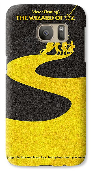 Wizard Galaxy S7 Case - The Wizard Of Oz by Inspirowl Design