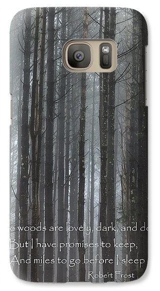 The Woods Galaxy S7 Case