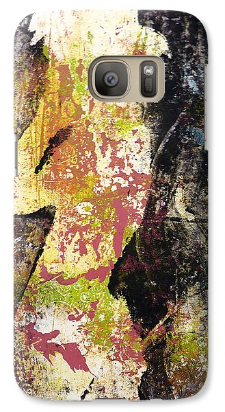 Galaxy Case featuring the painting The World Inside by P Maure Bausch