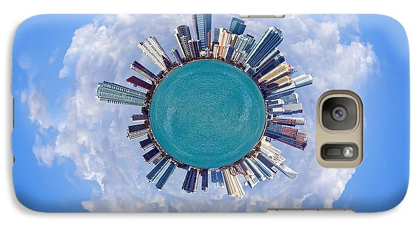Galaxy Case featuring the photograph The World Of Miami by Carsten Reisinger