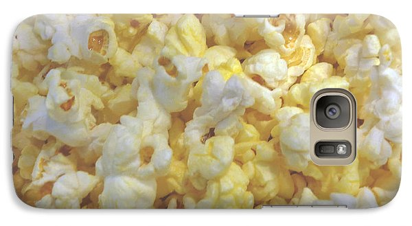 Galaxy Case featuring the photograph The World Of Popcorn by Hiroko Sakai