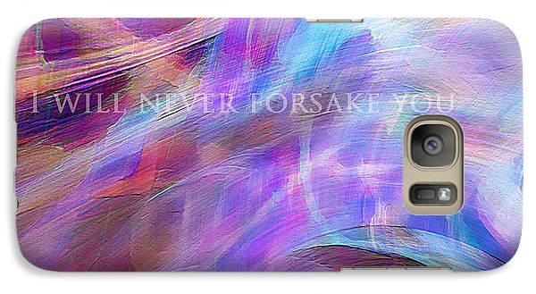 Galaxy Case featuring the digital art The Writing's On The Wall by Margie Chapman