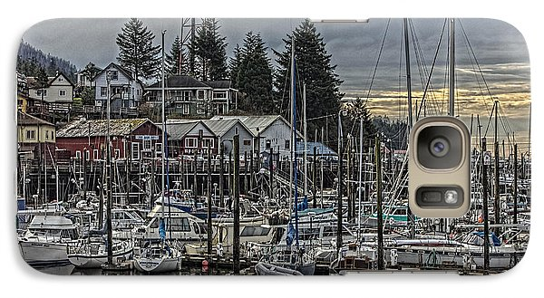 Galaxy Case featuring the photograph The Yacht Club Ketchikan by Timothy Latta