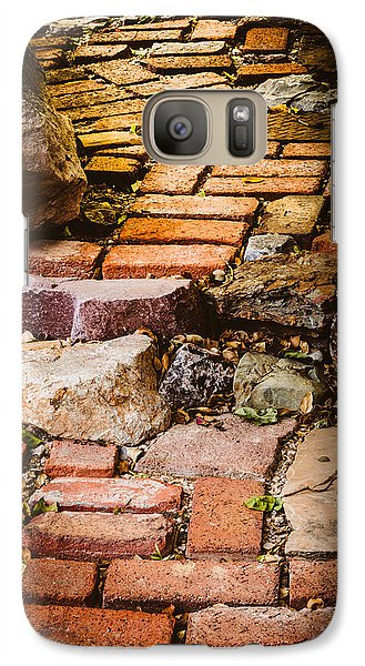 Galaxy Case featuring the photograph The Yellow Brick Road by Beverly Parks