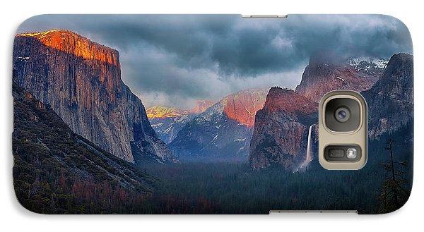 Yosemite National Park Galaxy S7 Case - The Yin And Yang Of Yosemite by Michael Zheng