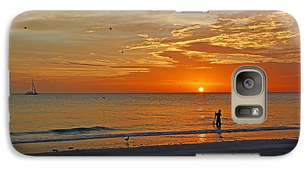 Galaxy Case featuring the photograph The Young Fisherman by HH Photography of Florida