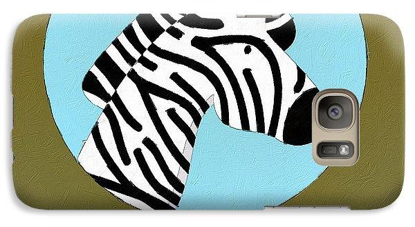 The Zebra Cute Portrait Galaxy S7 Case