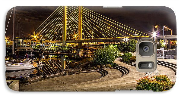 Galaxy Case featuring the photograph Thea Foss Waterway Hwy 509 Bridge by Rob Green