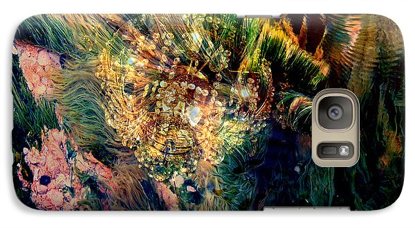 Galaxy Case featuring the photograph Thermal Grasses by Irma BACKELANT GALLERIES