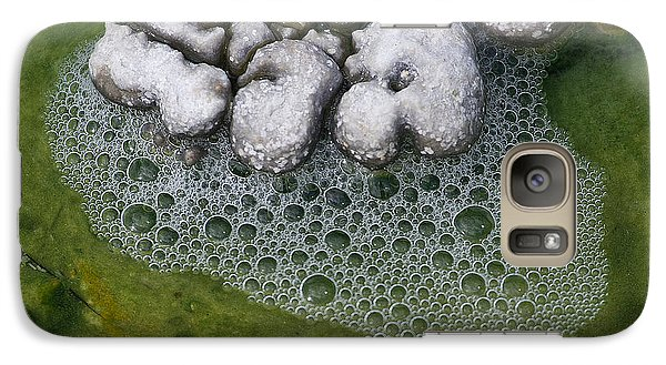 Galaxy Case featuring the photograph Thermal Pool by J L Woody Wooden
