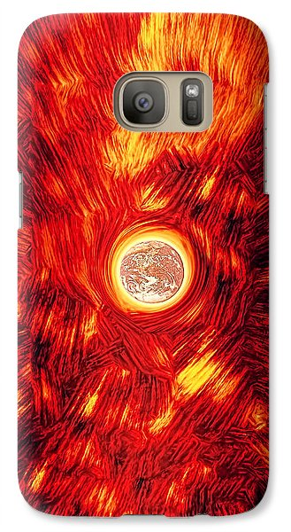 Galaxy Case featuring the photograph Thermodynamic Forces by Kellice Swaggerty