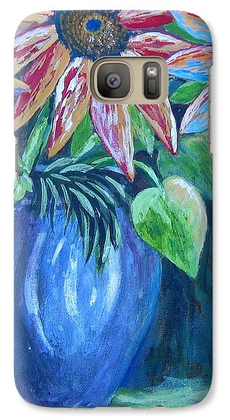 Galaxy Case featuring the painting These Are For You by Suzanne Theis