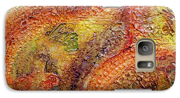 Galaxy Case featuring the painting These Three Remain by D Renee Wilson